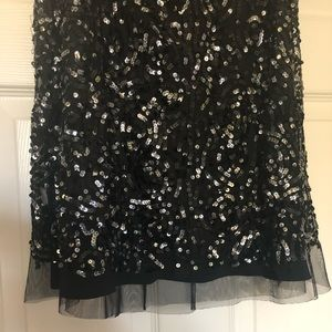 BCMG Maxazria Sequins Skirt